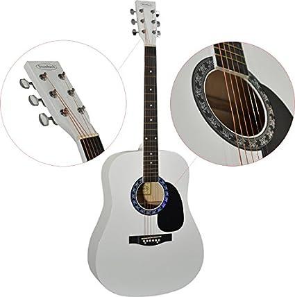 Steinbach 4/4 Guitarra acústica dreadnought con madera de tilo ...