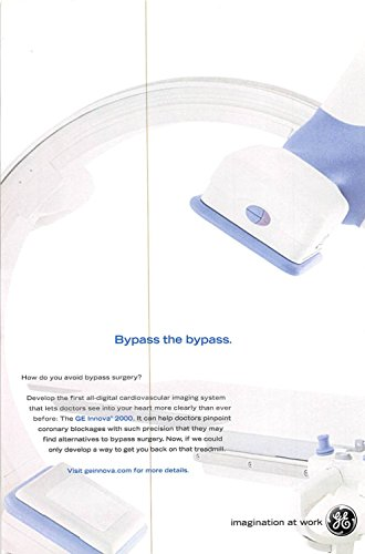 Print Ad 2003 Develop the first all-digital cardiovascular imaging system