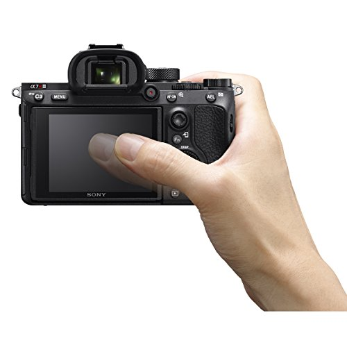 Sony a7R III 42.4MP Full-frame Mirrorless Interchangeable Lens Camera Body with Sony 128GB UHS-II SD Memory Card, Sony Soft Carrying Case a7RIII, and Sony Gun Zoom Microphone Bundle