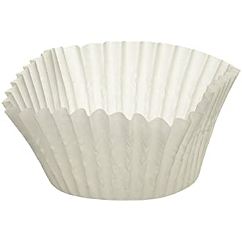 A World of Deals Best Quality Standard Size White Cupcake Paper - Baking Cup - 4 Packs Cup Liners 500 Pcs