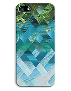 Green Scenic Sea Beautiful Pattern For Iphone 6 Phone Case Cover Hard