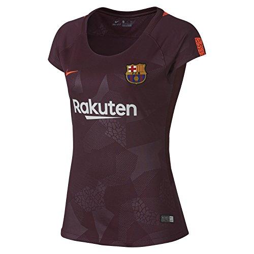 14a8b682ce3 Nike Womens FC Barcelona Stadium Jersey  Night Maroon  (M)
