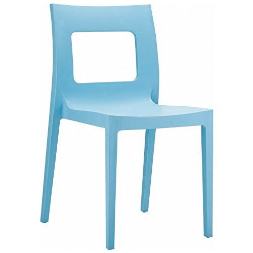 Lucca Dining Chair - Set of 2 - Blue