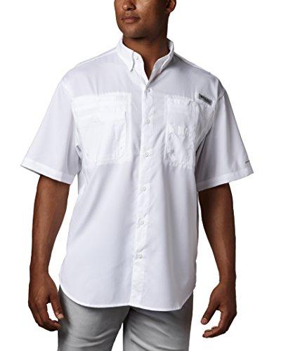 Manga Columbia Ii 's Camiseta De Tamiami Blanco Men Corta tqqwC