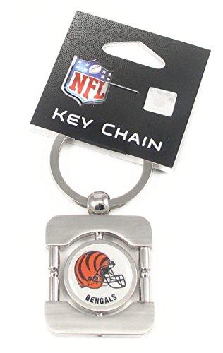 Cincinnati Bengals Executive Silver Key Chain - NFL Football Fan Shop Sports Team Merchandise ()