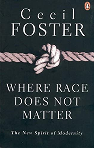 book cover of Where Race Does Not Matter