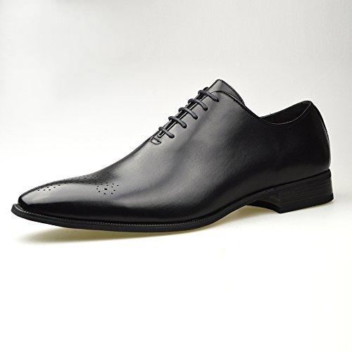 Oxford schwarz Herren Leder Schuhe offiziellen Smart Größe 6, 7, 8, 9, 10, 11 Schwarz