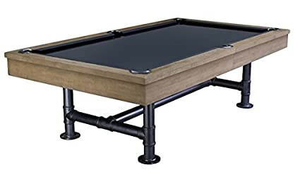 Amazoncom Hollywood The Dwell Pool Table Free Premier Felt - Convert indoor pool table to outdoor