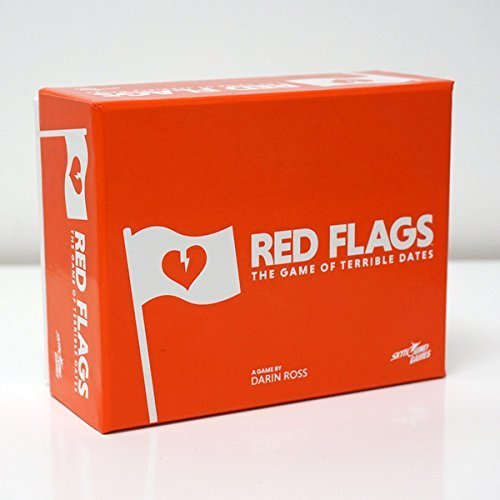 Red Flags Card Game from Skybound: 400-Card Main Deck ()