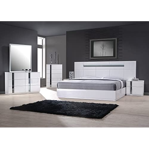 Contemporary Bedroom Set: Amazon.com