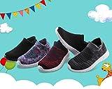 JABASIC Kids Walking Shoes Boys Girls Breathable