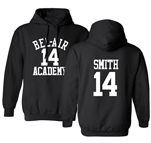 The Fresh Prince Of Bel Air Academy Will Smith Basketball Men's Hoodie Sweatshirt (Fresh Prince Of Bel Air Halloween)