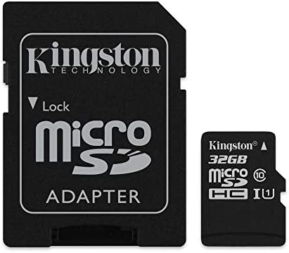 Amazon.com: Seleccione de lona de Kingston 32GB microSDHC ...