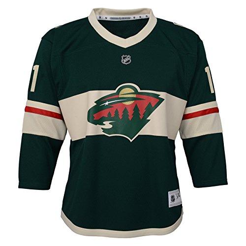 7e2c88be3 NHL Minnesota Wild Youth Boys Replica Home-Team Jersey