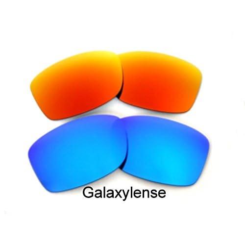 Galaxy Lentes De Repuesto Para Oakley Jupiter Squared azul y rojo Polarizados  2 Pares durable service 0fc9d81b5d