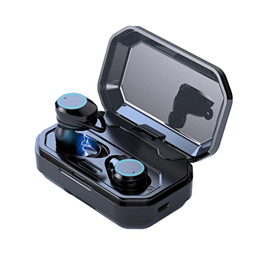 OmkuwlQ Bluetooth 5.0 Headset Wireless Earphones TWS in-Ear Earbuds Waterproof Stereo Sports Headphones 2