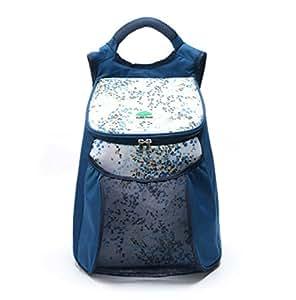 crxsunny enfriador de Picnic cesta de mochila con aislamiento bolsa para el almuerzo, azul
