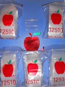 1000 apple baggies 2x2 - 9