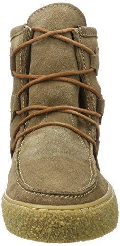 cashott Beige 62 Suede Taupe Moccasin Boots A18110 WoMen qrxnIpwqZO