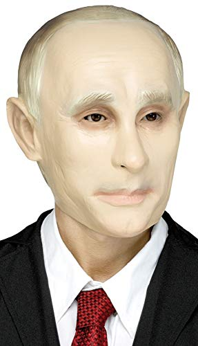 Mens Ladies Putin Overhead Mask Russian Famous Person