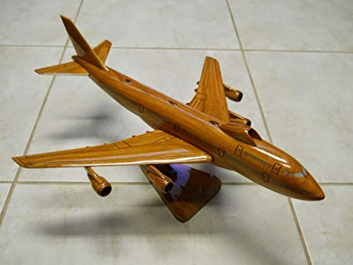 E-4 Advanced Airborne Command Post Mahogany wood Airplane model ()