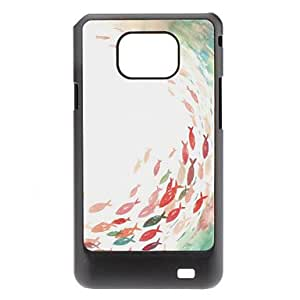 Fish Pattern Hard Case for Samsung Galaxy S2 I9100