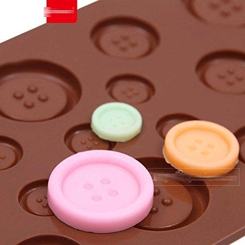 Amazon.com: Anyana Silicone Chocolate Mold 3D Cute Button Shape Cake Decoration Tools moldes de silicona para fondant, Kitchen Baking Tools: Kitchen & ...