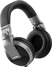 Pioneer DJ HDJ-X5BT-K Bluetooth DJ-koptelefoon Wired zilver