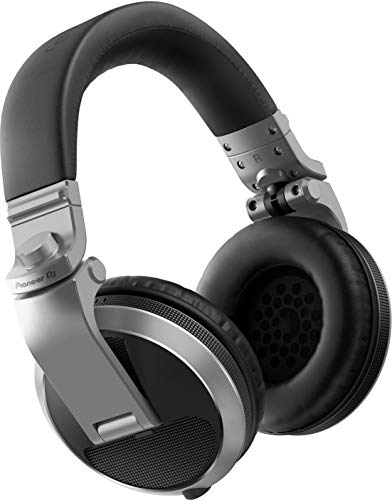 Pioneer HDJ-X5 Circumaural Diadema Plata – Auriculares (Circumaural, Diadema, Alámbrico, 5-30000 Hz, 1,2 m, Plata)
