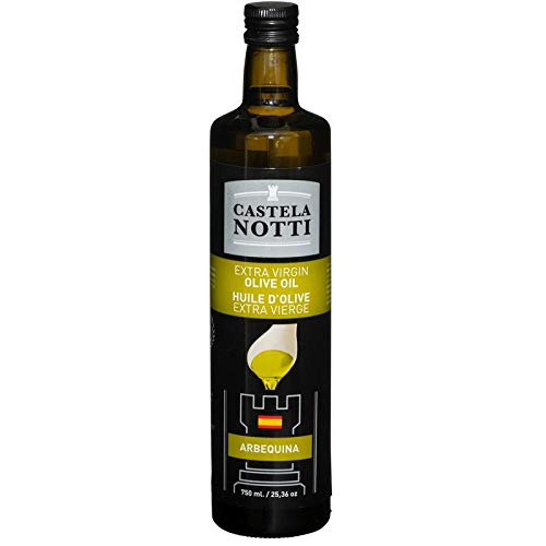 Virgin Olive Oil Arbequina - 750ml (25.4oz) | Superior, Multi Gold Award Winning, Imported From Spain ()