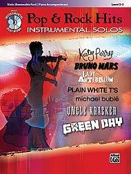Alfred Pop & Rock Hits Instrumental Solos Viola Book & CD ()