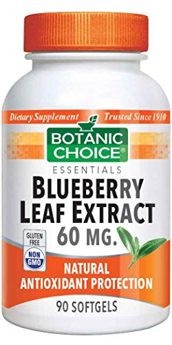 (Botanic Choice Blueberry Leaf Extract,90 softgels)