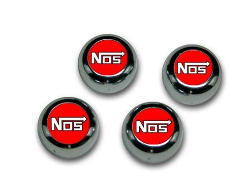UPC 874022005998, Nos-Red Chrome ABS Snap Caps