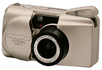 Amazon.com : Olympus Stylus Zoom 115 QD Date 35mm Camera : Camera ...