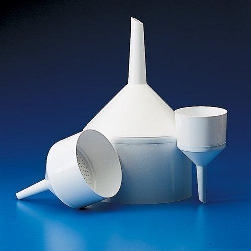 Dynalon Kartell 242835-070 Polypropylene Autoclavable Buchner Funnel, 180ml Capacity, 70mm Diameter (Case of 6)