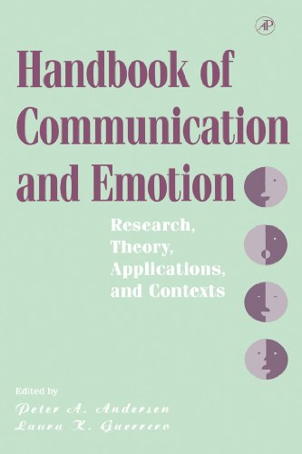 Download Handbook of Communication and Emotion: Research, Theory, Applications, and Contexts Pdf