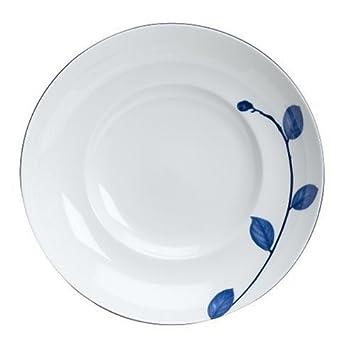 Amazon.com | Mikasa True Blue Soup Plate: Soup Bowls: Soup Bowls