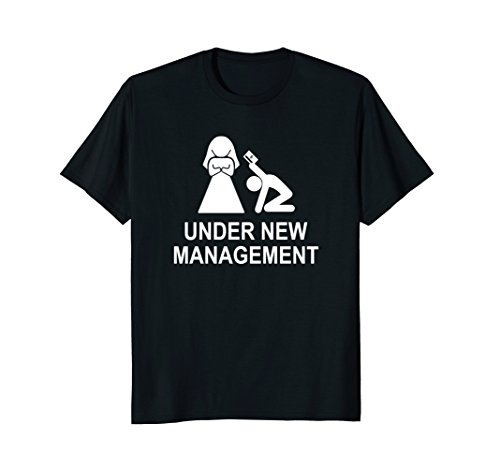 Under New Management funny just married t-shirt