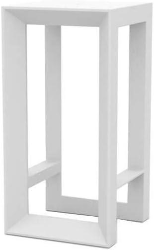 Vondom Frame mesa alta de exterior h.100 cm blanco: Amazon.es: Hogar