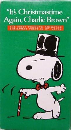 Its Christmas Time Again Charlie Brown.Amazon Com It S Christmastime Again Charlie Brown Lee