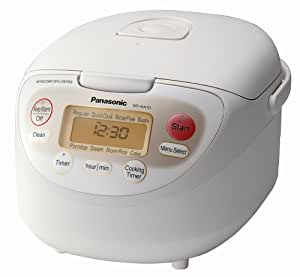 Panasonic SR-NA10 5-1/2-Cup Rice Cooker/Warmer with Advanced Fuzzy Logic Technology