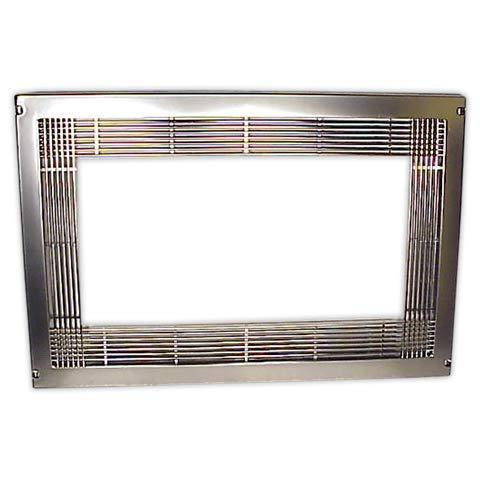 Marco encastre microondas INOX | FERRESPAIN 59,5 x 40 cm ...