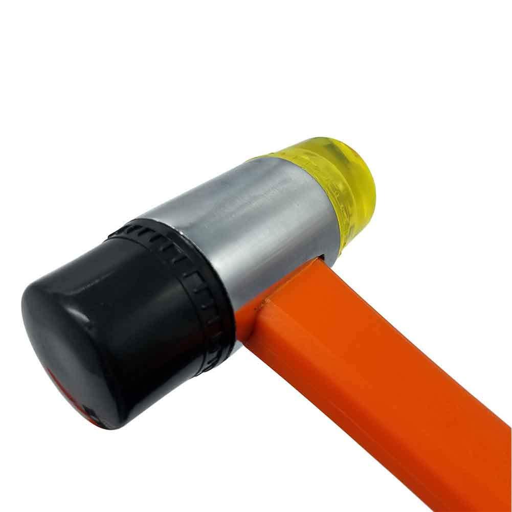 Naranja Lionina 43-TLG Juego de Montaje para Suelos de Madera laminada Barra de Carga Pesada con Bloque de Impacto y baqueta de Fibra de Vidrio de 35 mm con 40 distanciadores Tama/ño Libre