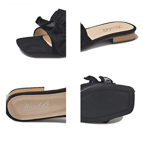 Sandali D Mzq Estivi Spessa 2019 Trascina E Outdoor Piatte Donna Word Moda Con Casual Scarpe Wild Pantofole yq Ciabatte HHwUqYC