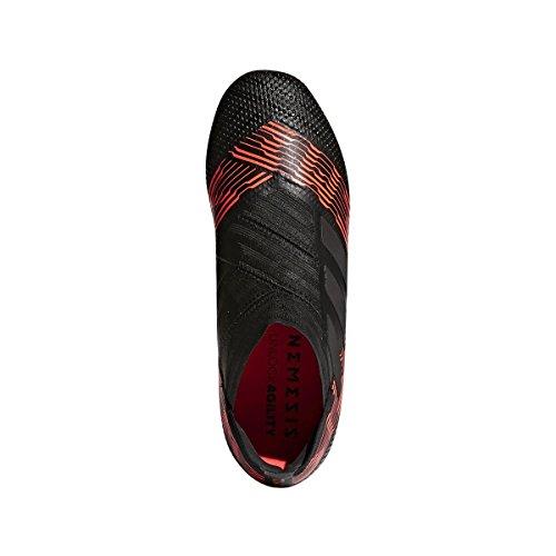 Adidas Jeugd Nemeziz 17+ 360agility Fg Vaste Grond Voetbal Kikkers Zwart, Zonne-rood