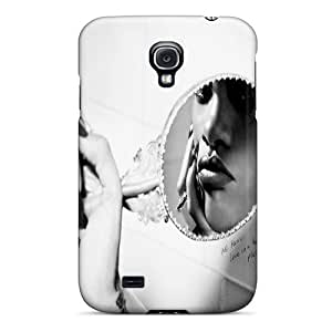 Scratch Resistant Hard Cell-phone Case For Samsung Galaxy S4 With Customized Trendy Rihanna Image SherriFakhry
