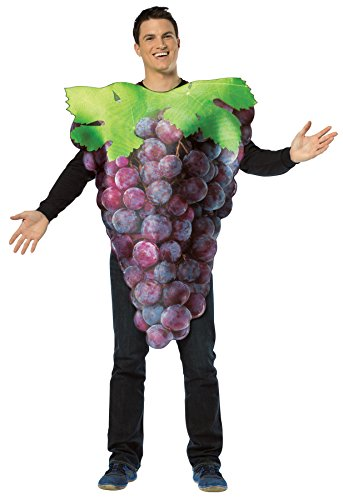 Halloween Costume Bunch Of Grapes (UHC Men's Get Real Bunch Of Grapes Food Theme Adult Halloween Costume,)