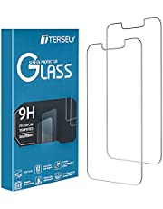 T Tersely [2 Packs] Screen Protector for Apple iPhone 13/iPhone 13 Pro (6.1 inch), Premium HD Tempered Glass Screen Protector Film [9H Hardness][Case Friendly] for iPhone 13/iPhone 13 Pro