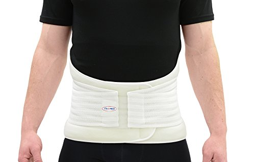 ITA-MED Extra-Strong Lumbo-Sacral Support Belt (Removable Spine)