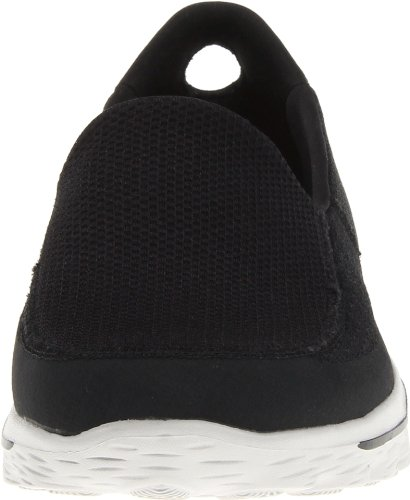 Skechers GO Walk 2, Sneakers da Uomo Nero (Black/Grey)